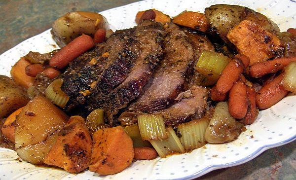 3 Hour Old Fashioned Oven Pot Roast Recipe Recipezazz Com