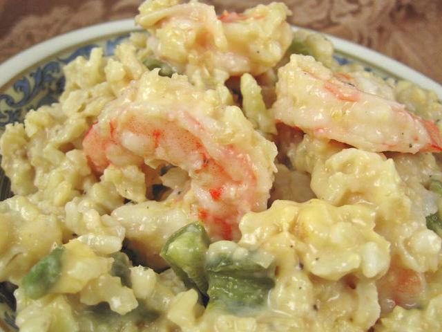 Shrimp And Rice Casserole Recipe Recipezazz Com