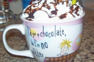 Chocolate Peppermint Tea Recipe Recipezazz Com