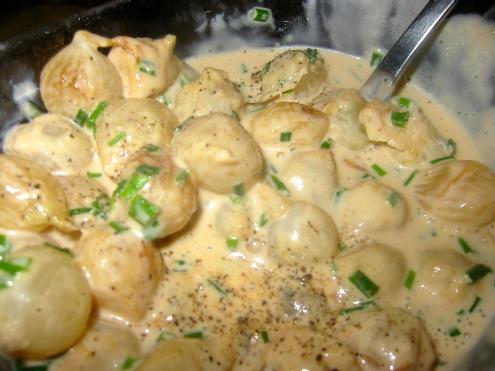 Easy Creamed Pearl Onions Recipe Recipezazz Com