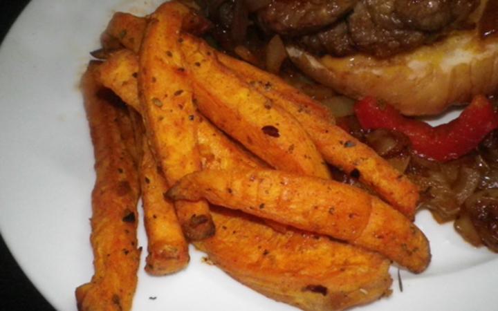 Sweet Potato Fries Actifry Recipe Recipezazz Com