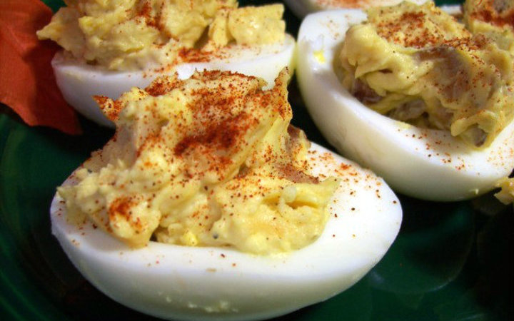 The devil made me do it deviled eggs recipe recipezazz the devil made me do it deviled eggs forumfinder Choice Image