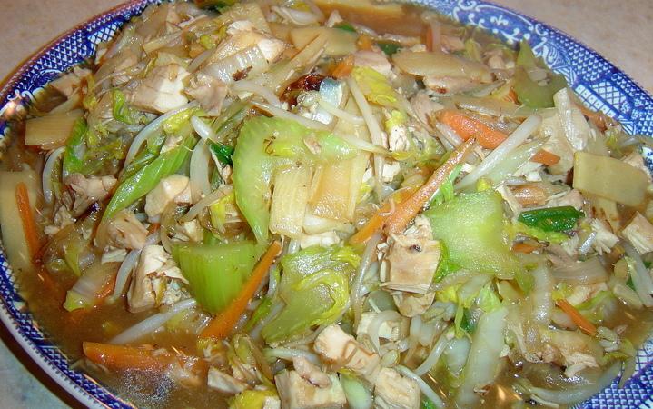 Cantonese Chop Suey Recipe Recipezazz Com
