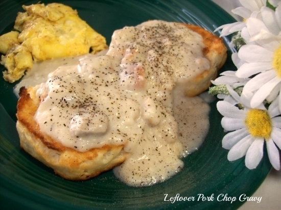 Leftover Pork Chop Gravy Recipe Recipezazz Com