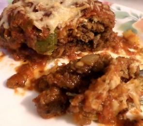 Fried Eggplant Lasagna