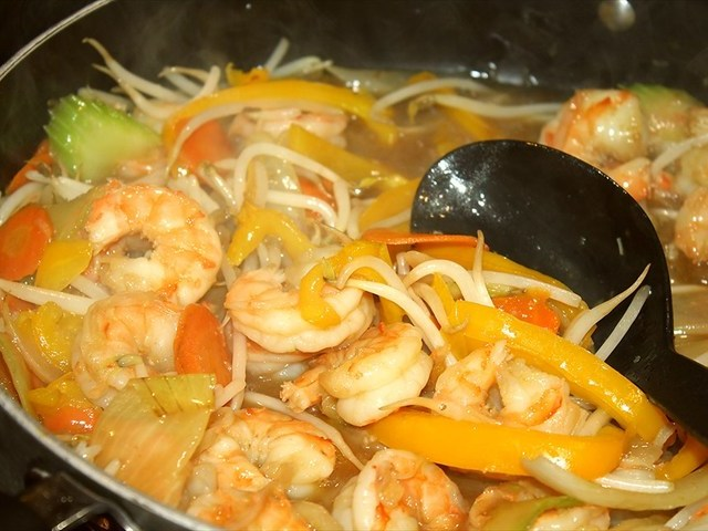 Shrimp Chop Suey Recipe Recipezazz Com