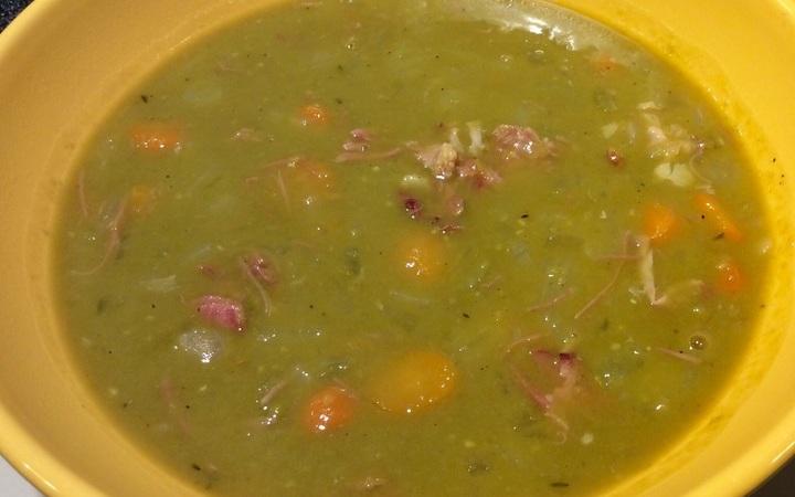recipe: venison split pea soup [8]