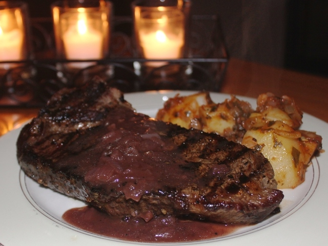 Amy S Bordelaise Sauce For Steak Burgers Recipe Recipezazz Com,Dog Ear Mites Vs Infection