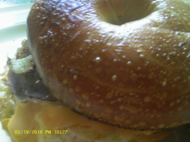 McDonald's Breakfast Bagel Sandwich (Steak) Recipe ...