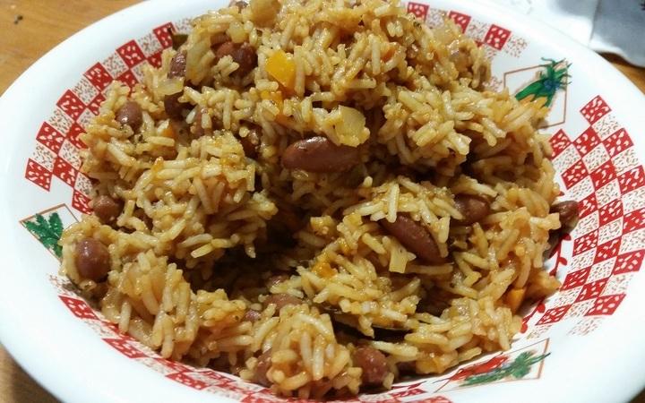 Haitian diri ak pwa rice beans recipe recipezazz haitian diri ak pwa rice beans forumfinder Images