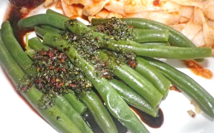 Balsamic Amp Garlic Beans Recipe Recipezazz Com