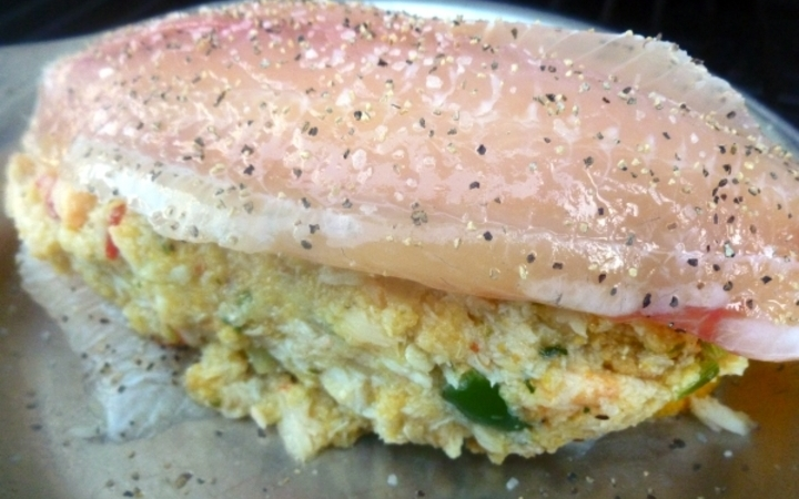 Baked Crab Stuffed Tilapia Recipe Recipezazz Com