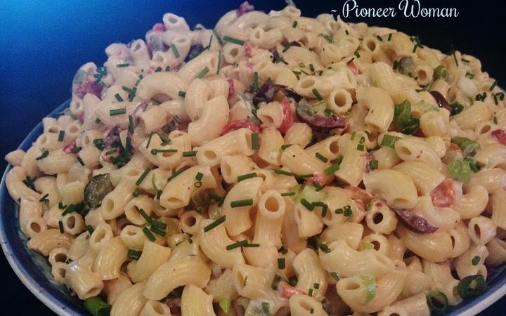 Pasta Salad Recipe Pioneer Woman