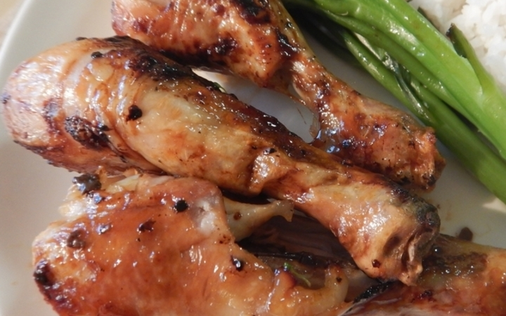 Gordon Ramsays Sticky Baked Chicken Drumsticks Recipe Recipezazz