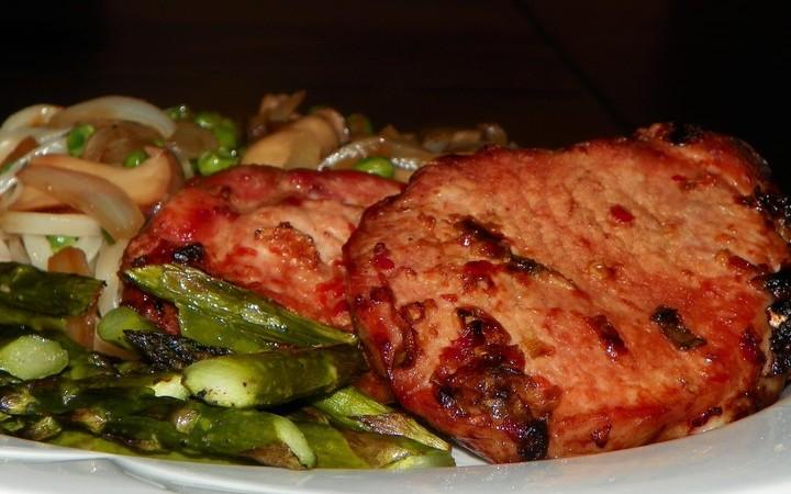Grilled Szechuan Pork Chops Recipe Recipezazz Com