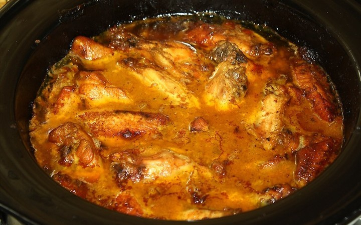 how to cook chicken wings in a crock pot