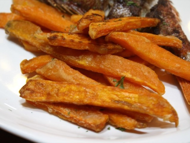 Sweet Potato Fries Actifry Recipe Recipezazz Com