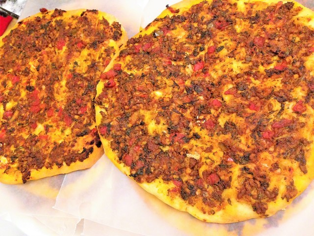 Forevermama S Armenian Lahmajoun Pizza S Recipe