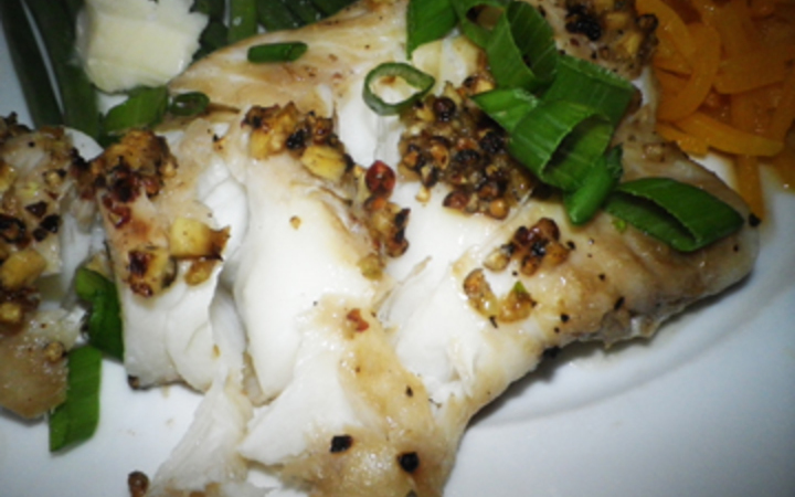 Oriental Baked Cod Recipe Recipezazz Com