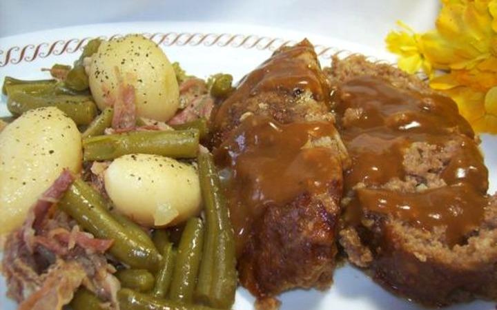 Old School Lipton Onion Soup Meatloaf Recipe Recipezazz Com