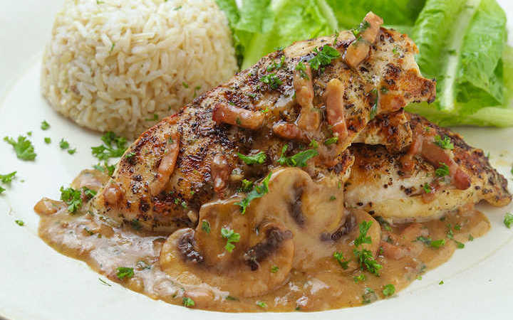 Just Like Carrabbas Italian Grill Chicken Marsala Recipe