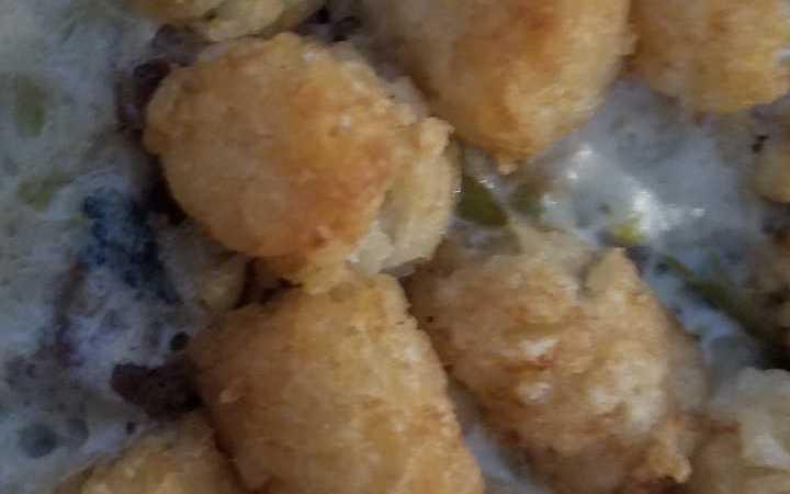 Green Bean Tater Tot Casserole Recipe - Recipezazz.com