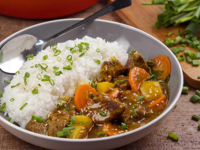 Japanese Curry Rice Recipe Recipezazz Com