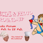 Recipe and Photo Roundup Event (Feb 2015)